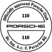 Officially approved Porsche Club 110